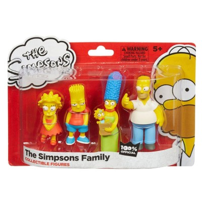 Lansay Figurines de collection : La famille Simpson