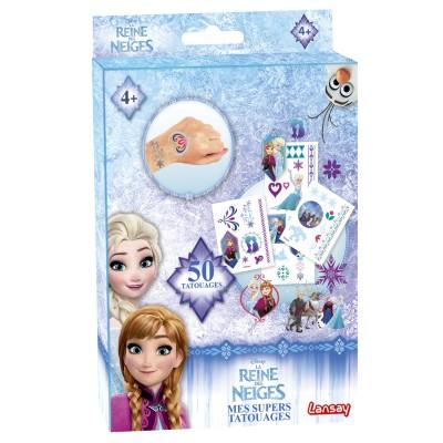 Lansay Kit de tatouages La Reine des Neiges (Frozen) : Mes supers tatouages