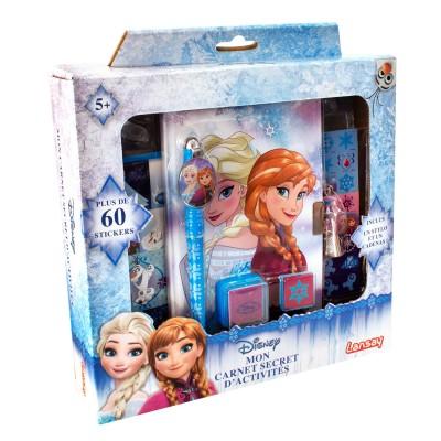 Lansay Mon carnet secret d'activités La Reine des Neiges (Frozen)