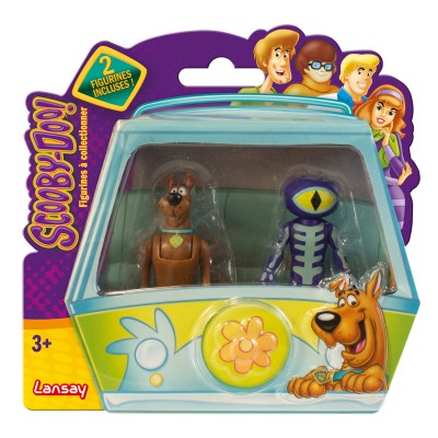 pack de 2 figurines de collection scooby doo scooby doo. Black Bedroom Furniture Sets. Home Design Ideas