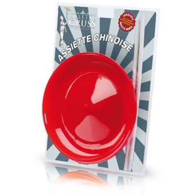 Oid Magic jonglerie arlette gruss : assiettes chinoises