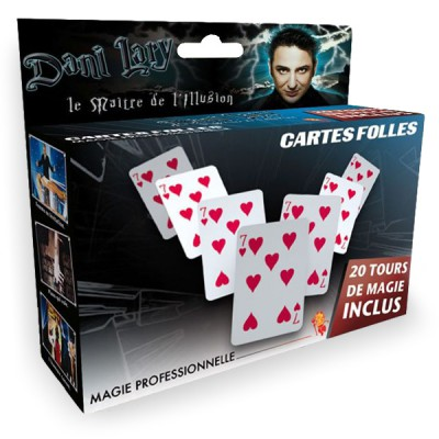 OID Magic Magie : Dani Larry : Cartes folles