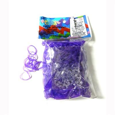 Rainbow Loom rainbow loom recharge élastiques : violet