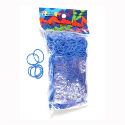 Rainbow Loom rainbow loom recharge élastiques : bleu océan jelly