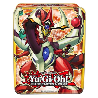 Asmodée Jeu de cartes à jouer Yu-Gi-Oh! : Boîte métal Shonen Jump : Dragon pendule aux yeux impairs