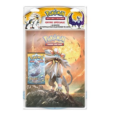 Asmodée Cartes pokemon : portfolio + booster de 10 cartes xy - evolutions