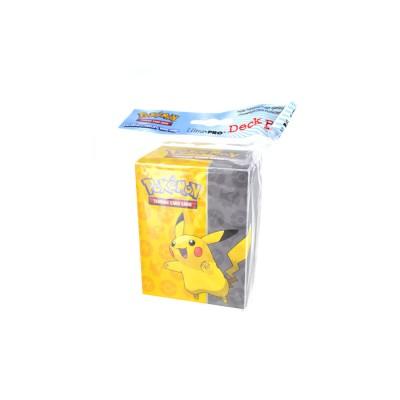 Asmodée Pokémon : Boîte de rangement Pokémon générique : Jaune