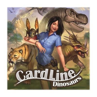 Asmodée Cardline : dinosaures