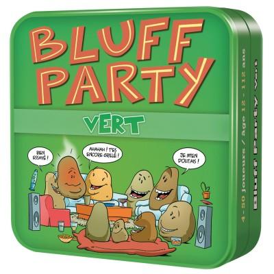Asmodée Bluff party vert : nouvelle édition
