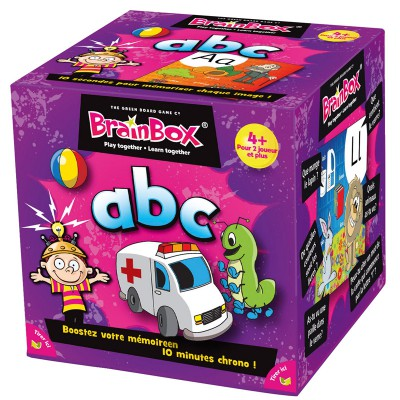 Asmodée Brain box : abc