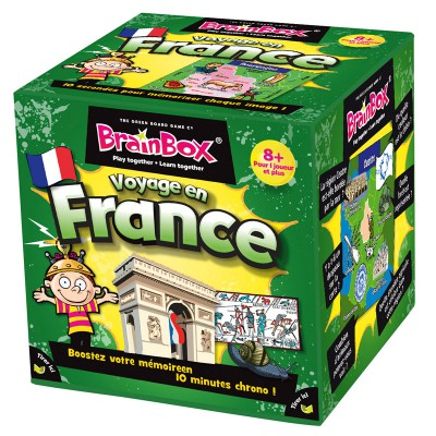 Asmodée Brain box : voyage en france