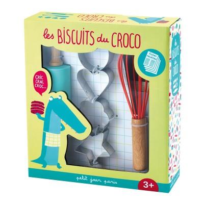 Arty Frog Paris Coffret pâtisserie : Les biscuits du Croco