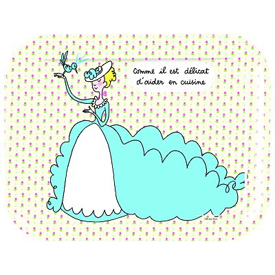Arty Frog paris plateau - princesses : aider en cuisine