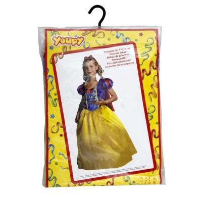 Yoopy Déguisement Princesse jaune et bleue 8/10 ans