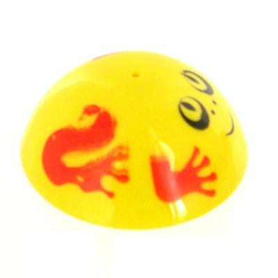 Dam Puce sauteuse 5,5 cm : jaune