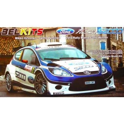 Belkits Maquette voiture : ford fiesta s2000 mc 20