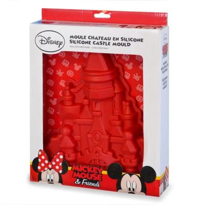 Disney Moule à gâteau en silicone : Château de Mickey
