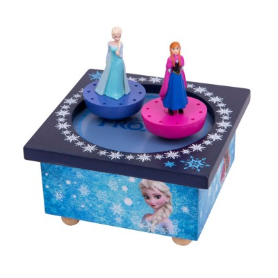 Disney Boite à musique magnétique la reine des neiges (frozen) : elsa et anna