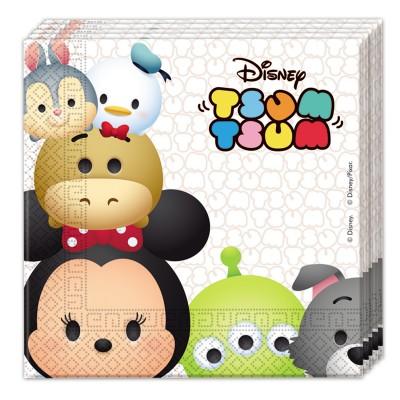 Disney Serviettes tsum-Tsum : disney x20