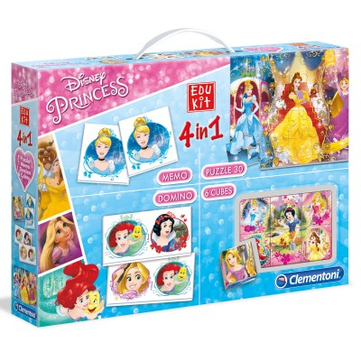 Disney Edukit 4 en 1 : princesses disney