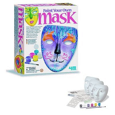 4m - kidz labs kit peindre son propre masque