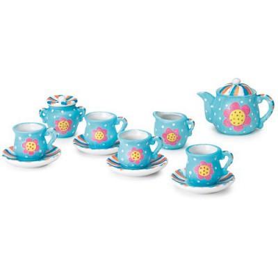 4m - kidz labs kit de peinture dînette : service à thé