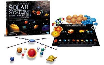 4m - kidz labs kit de fabrication du système solaire