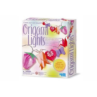 4M - Kidz Labs Origami Papier à plier : Kit lumière