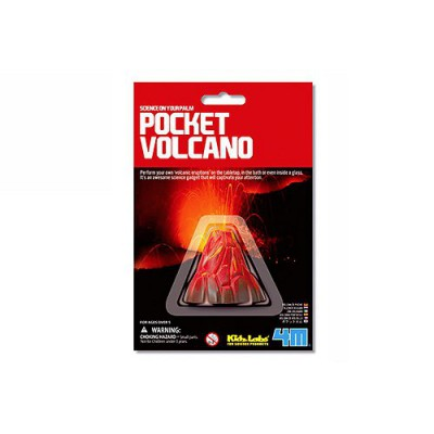 4m - kidz labs expérience science card : mini-volcan