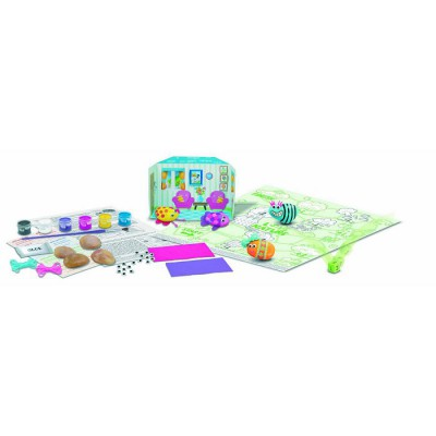 4m - kidz labs kit création green activity : natural rock art