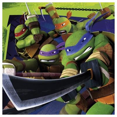 Amscan Serviettes Tortues Ninja