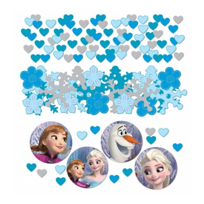 Amscan Confettis de table la reine des neiges - frozen