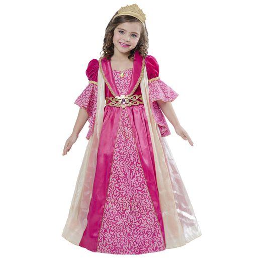 Amscan Déguisement princesse corolle : panoplie renaissance 5/7 ans