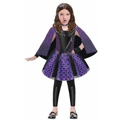 Amscan Boite vitrine : déguisement chica vampiro : 8/10 ans