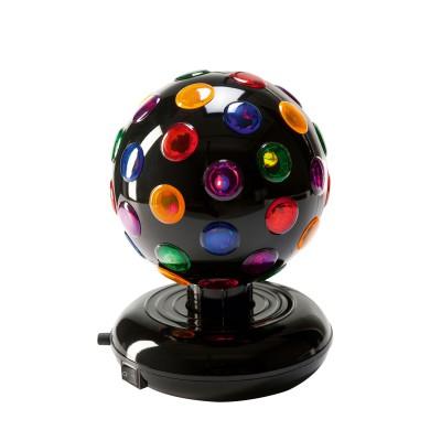 jeux de lumi re boule disco rotative clip sonic. Black Bedroom Furniture Sets. Home Design Ideas