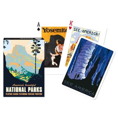 Piatnik Jeu de cartes : Parc nationaux. Jeu de cartes : Parc nationaux