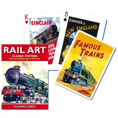 Piatnik Jeu de cartes : Chemins de fer