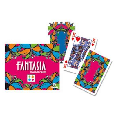 Piatnik Jeux de cartes : Fantasia 2 x 55 cartes