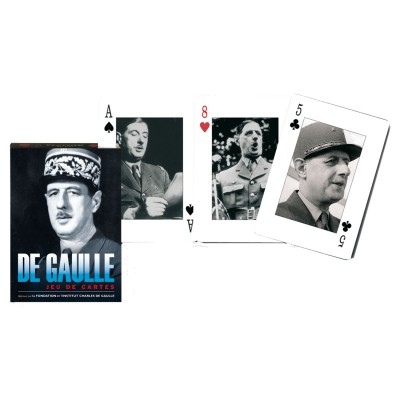 Piatnik Jeu de cartes : Le Général De Gaulle