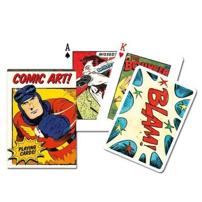 Piatnik Jeu de cartes : Vintage Comics