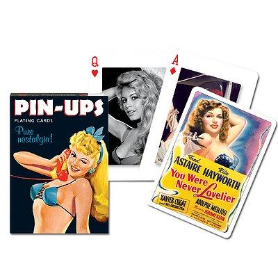 Piatnik Jeu de 54 cartes : pin ups