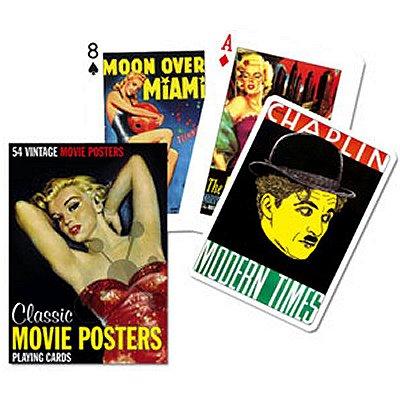 Piatnik Jeu de 54 cartes Posters de films