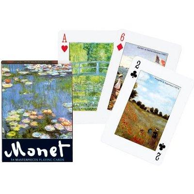 Piatnik Jeu de 54 cartes monet