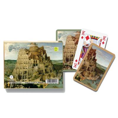 Piatnik Jeux de cartes : Tour de Babel 2 x 55 cartes. Jeux de cartes : Tour de Babel 2 x 55 cartes