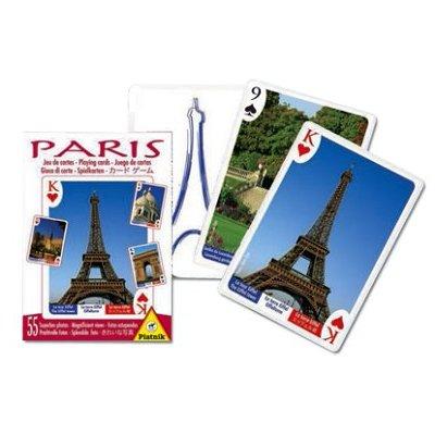 Piatnik Jeu de cartes : Souvenir de Paris