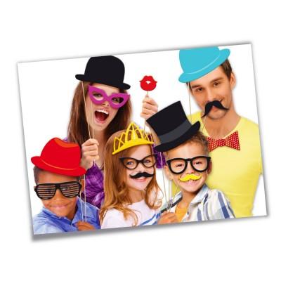 Canal Toys Accessoires de déguisement : Selfie Booth Photo Délire avec perche télescopique
