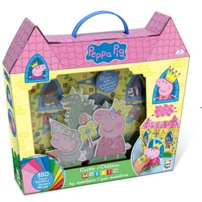 Canal Toys mosaïque au numéro : peppa pig
