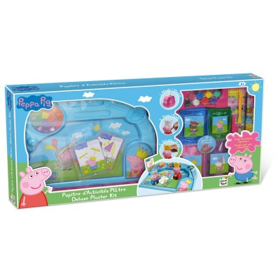 Canal Toys Pupitre d'activités en plâtre Peppa Pig