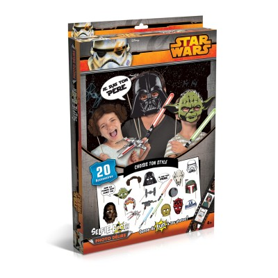 Canal Toys accessoires de déguisement : selfie booth photo délire : star wars