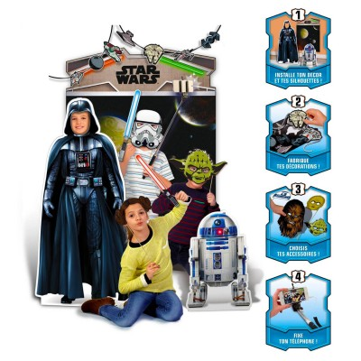Canal Toys selfie booth photo délire : photo studio party : star wars